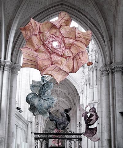 Peter Gentenaar, sculptures de papier